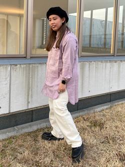 西宮ガーデンズ店のanさんのLeeの【otonaMUSE掲載】【毎日履きたい】ボーイズストレートパンツを使ったコーディネート