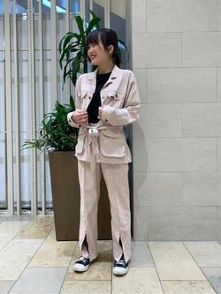 アミュプラザおおいた店のNatsumiさんのLeeの【シークレットセーール!!】RESORT サファリショーツを使ったコーディネート