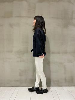 アミュプラザおおいた店のNatsumiさんのLeeの終了【サマーセール】SEASONAL EDITION ウエストマークジャケットを使ったコーディネート