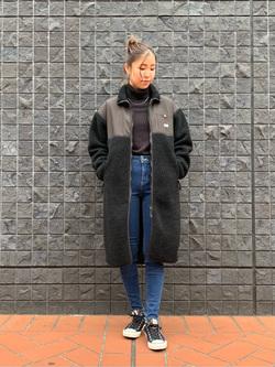 大阪店のwakanaさんのLeeのSTANDARD WARDROBE スキニーを使ったコーディネート