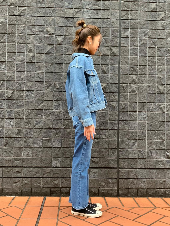 大阪店のwakanaさんのLeeのSTANDARD WARDROBE フレアーを使ったコーディネート