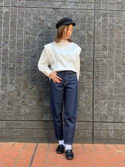 大阪店のwakanaさんのLeeの【Pre sale】ビックショルダーシャツを使ったコーディネート