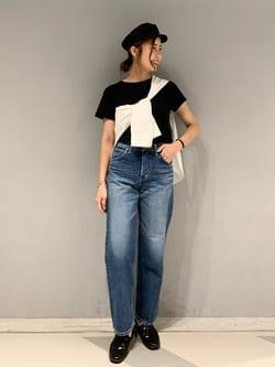 大阪店のwakanaさんのLeeの【otonaMUSE掲載】【毎日履きたい】ボーイズストレートパンツを使ったコーディネート