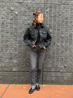 大阪店のwakanaさんのLeeの101 PROJECT RIDERS JACKETを使ったコーディネート