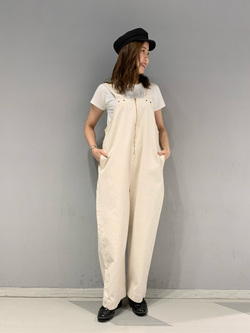 大阪店のwakanaさんのLeeの【竹下玲奈さんモデル】ジャストフィットTシャツを使ったコーディネート