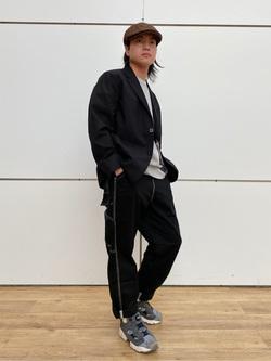 エスパル仙台店のRyuさんのLeeの【セットアップ対応】ジャケットを使ったコーディネート