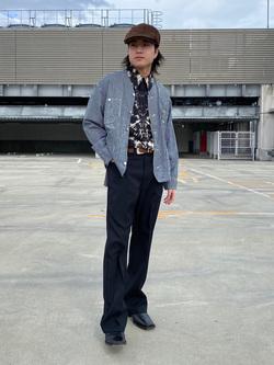 エスパル仙台店のRyuさんのLeeの【軽くて涼しい】ライトウエイト エンジニアジャケット/デニムジャケットを使ったコーディネート