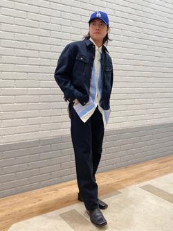 エスパル仙台店のRyuさんのLeeの【101project】ウエスターナー ジャケットを使ったコーディネート