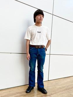 エスパル仙台店のRyuさんのLeeの【Winter sale】AMERICAN RIDERS 102 ブーツカットジーンズを使ったコーディネート