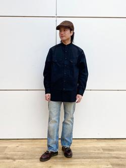 エスパル仙台店のRyuさんのLeeのバンドカラーシャツ/長袖を使ったコーディネート