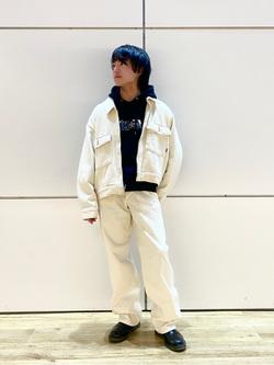 エスパル仙台店のRyuさんのLeeの【セットアップ対応】チェトパ ジャケットを使ったコーディネート
