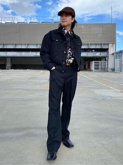 エスパル仙台店のRyuさんののWRANCHER/ランチャー ドレスパンツ(レングス74cm)を使ったコーディネート