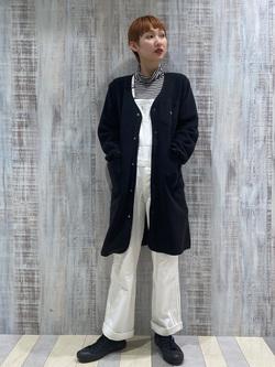Lee 名古屋店のアンジェラさんのLeeの【年間定番&ベストセラー】オーバーオールを使ったコーディネート