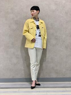 Lee 名古屋店のアンジェラさんのLeeの【セットアップ対応】ロコジャケット/カバーオールを使ったコーディネート
