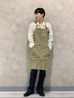 Lee 名古屋店のアンジェラさんのLeeのAMERICAN RIDERS 102 ブーツカットジーンズを使ったコーディネート
