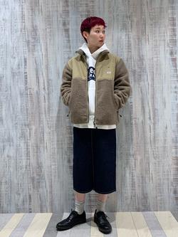 Lee 名古屋店のアンジェラさんのLeeのSTANDARD WARDROBE スカートを使ったコーディネート