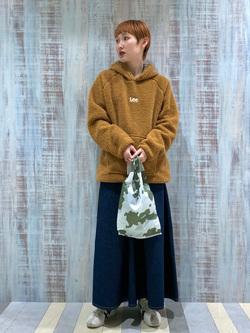 Lee 名古屋店のアンジェラさんのLeeのエコバッグ/ミニトートを使ったコーディネート