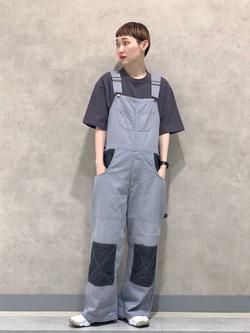 Lee 名古屋店のアンジェラさんのLeeの【SALE】ポケット付き 半袖Tシャツを使ったコーディネート