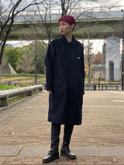 Lee 名古屋店のアンジェラさんのLeeの【直営店・WEB限定】サービスコートを使ったコーディネート