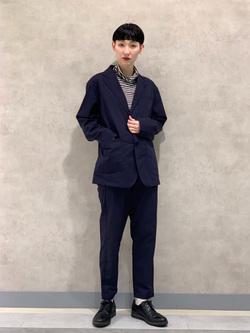 Lee 名古屋店のアンジェラさんのLeeの【セットアップ対応】ジャケットを使ったコーディネート
