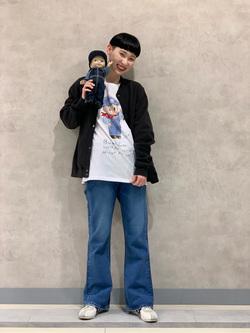Lee 名古屋店のアンジェラさんのLeeの【BuddyLee100周年記念】Lee×Wisut Ponnimit 長袖Tシャツを使ったコーディネート