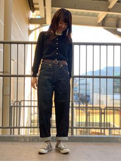 ららぽーと横浜のAyakaさんのLeeの終了BUDDY LEE ライダーパンツ【ユニセックス】を使ったコーディネート