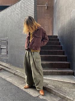 原宿店のReoさんのLeeの【再値下げ Winter sale】【セットアップ対応】チェトパ ジャケットを使ったコーディネート