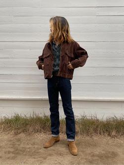 原宿店のReoさんのLeeの【Winter sale】【セットアップ対応】チェトパ ジャケットを使ったコーディネート