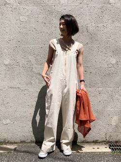 Lee アミュプラザ博多店のYurieさんのLeeのシアーシースルーシャツ半袖を使ったコーディネート