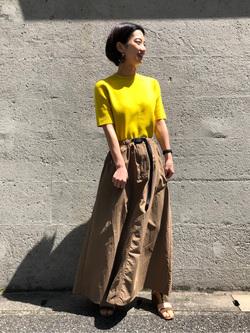 Lee アミュプラザ博多店のYurieさんのLeeの【Lee×GRAMICCI(グラミチ)】ロングスカートを使ったコーディネート