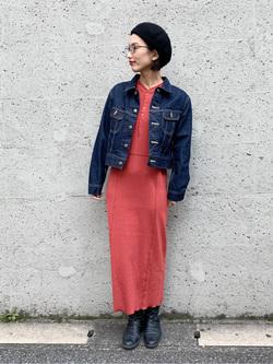 Lee アミュプラザ博多店のYurieさんのLeeの【MY定番】デニムジャケットを使ったコーディネート