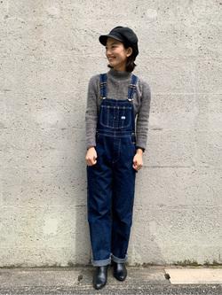 Lee アミュプラザ博多店のYurieさんのLeeの【ユニセックス】フリースジップアップジャケットを使ったコーディネート