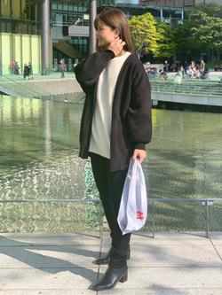 LINKS UMEDA店のYUKIさんのEDWINのワッフル ロングスリーブTシャツを使ったコーディネート