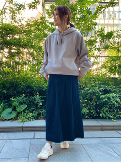 LINKS UMEDA店のYUKIさんのSOMETHINGの【GISELe 9月号掲載】SOMETHING LILY SKIRTを使ったコーディネート