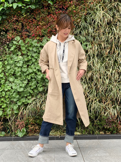 LINKS UMEDA店のYUKIさんのSOMETHINGの【GISELe 11月号掲載】SOMETHING ELSA THE LOW ストレートを使ったコーディネート