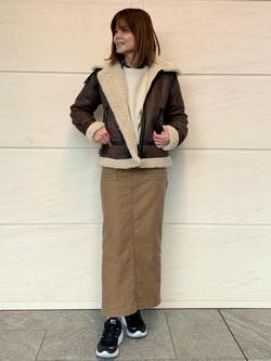 LINKS UMEDA店のYUKIさんのEDWINの【決算SALE】ワッフル ロングスリーブTシャツを使ったコーディネート