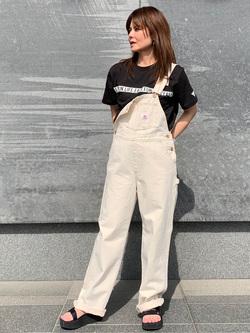 LINKS UMEDA店のYUKIさんのEDWINの終了【サマーセール】F.L.E プリントTシャツ 半袖 Bを使ったコーディネート