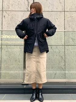 LINKS UMEDA店のYUKIさんのEDWINの【直営店限定】クルーネックスウェット(ヴィンテージ仕様)を使ったコーディネート