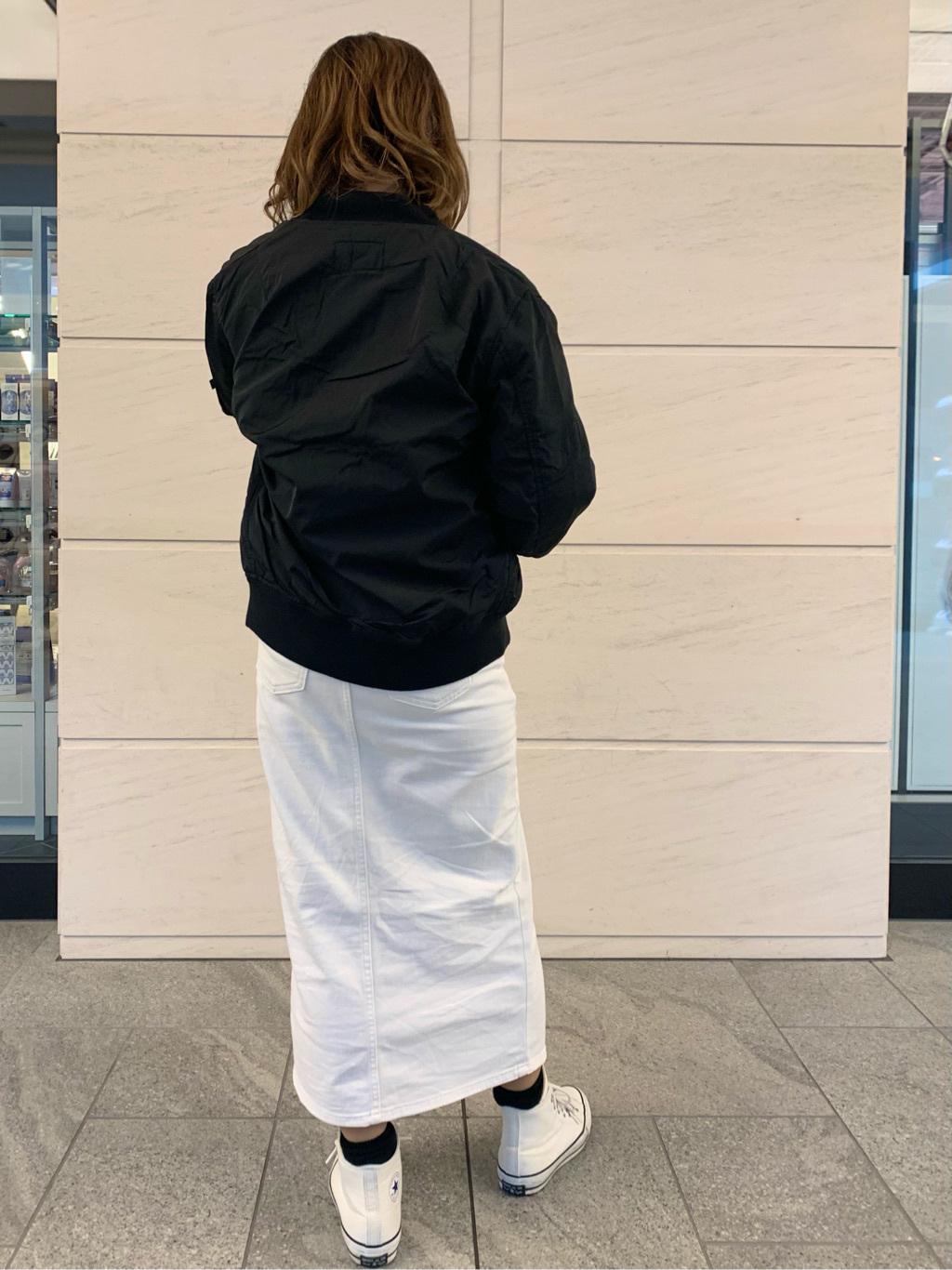 LINKS UMEDA店のYUKIさんののL-2B ボンディングジャケットを使ったコーディネート