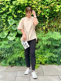 LINKS UMEDA店のYUKIさんのC17のC17 バックレイヤードシャツを使ったコーディネート