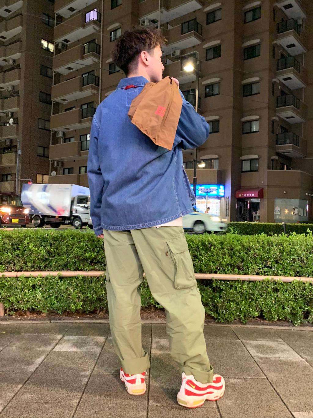 日暮里駅前店のDaichiさんのEDWINのカバーオール (USMC M-41タイプ)を使ったコーディネート