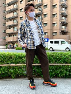 日暮里駅前店のDaichiさんのEDWINのF.L.E ワイド テーパードを使ったコーディネート