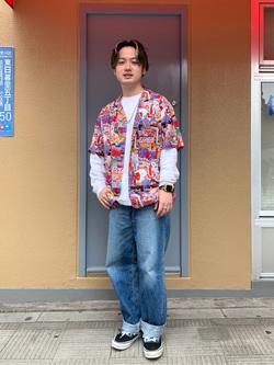 日暮里駅前店のDaichiさんのEDWINの【EDWIN 60周年限定】 半袖シャツを使ったコーディネート
