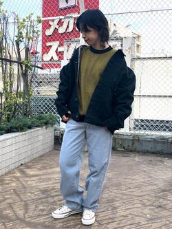 ルミネエスト新宿店のAzusaさんのLeeの101 PROJECT STORM COWBOY JACKETを使ったコーディネート