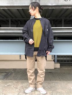 ルミネエスト新宿店のAzusaさんのLeeの【直営店・WEB限定】ビッグポケット シャツジャケットを使ったコーディネート