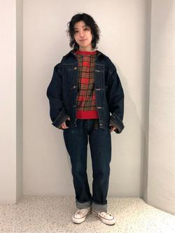 ルミネエスト新宿店のアンドウさんのLeeの【再値下げ Winter sale】101 PROJECT STORM COWBOY JACKETを使ったコーディネート