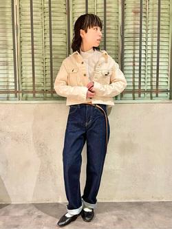 ルミネエスト新宿店のアンドウさんのLeeの【MY定番】デニムジャケットを使ったコーディネート