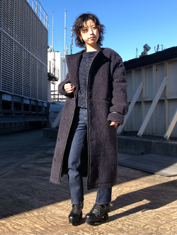 ルミネエスト新宿店のAzusaさんのLeeの【再値下げ Winter sale】【寒い冬もあたたかい】ロングボアジャケットを使ったコーディネート