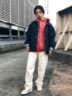 ルミネエスト新宿店のAzusaさんのLeeの101 PROJECT COWBOY JACKETを使ったコーディネート
