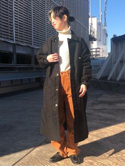 ルミネエスト新宿店のAzusaさんのLeeの【直営店・WEB限定】サービスコートを使ったコーディネート